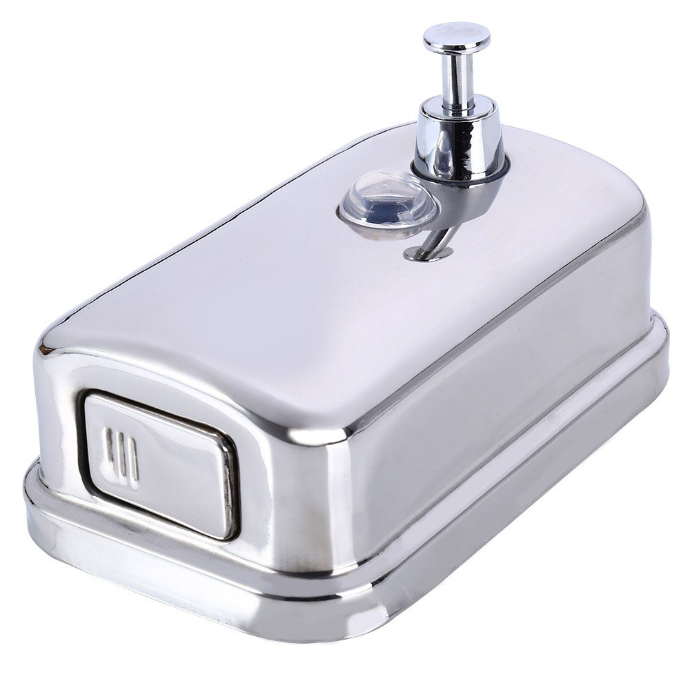 Seifenspender Dusche Edelstahl : Wall Mounted Shower Soap Dispenser