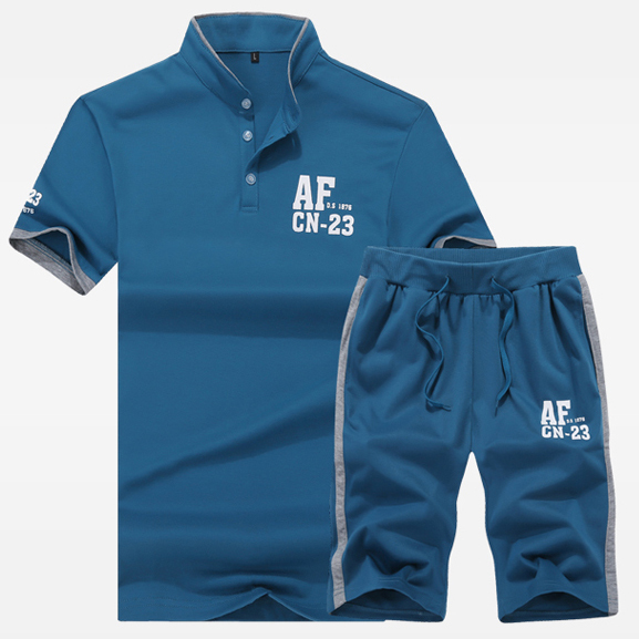 2015 Sports Suit Men Shorts Beach Solid Polo Shirt Homme Mens Sets Lacote T Summer Style Tenis Masculino - Modern7shop store