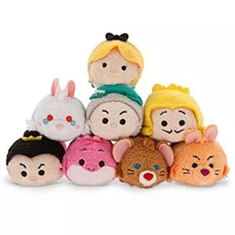 New Tsum Tsum minion mini doll.9cm Tsum Tsum sititch and lilo Jack pinocchio three little pigs toy ect.(China (Mainland))