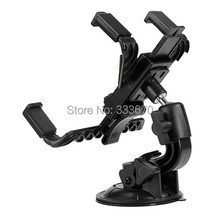 360  Rotating Car Holder Windshield Mount Stand For iPad Air Mini 5 4 3 2 For SAMSUNG Tab 10.1 P7500 P7510 For 7-10 inch Tablet(China (Mainland))