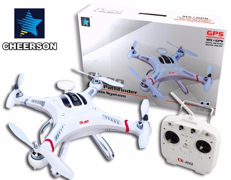 Cheerson UAV CX-20 Auto-Pathfinfer RTF Drone 4CH 6axis MX Autopilot System Quadcopter headless mode Aircraft height hold Toy