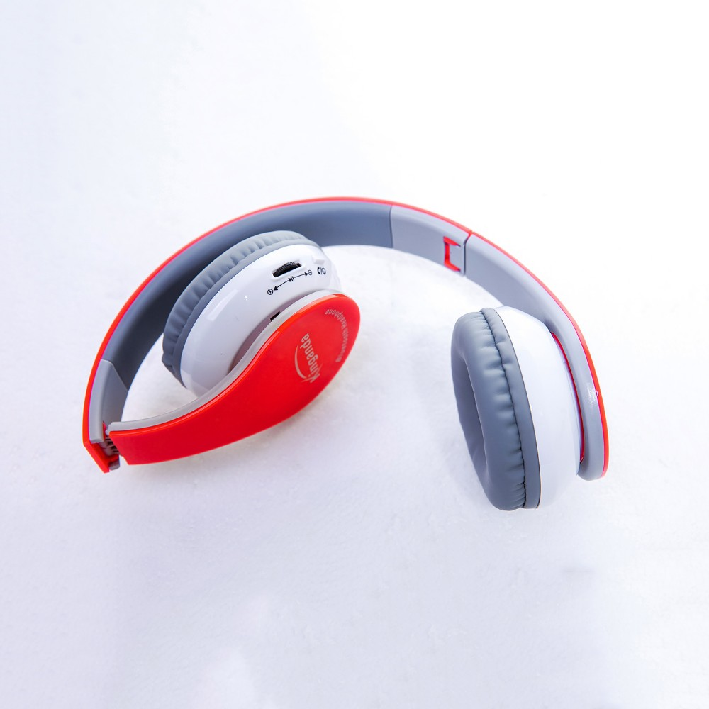 BT-513 Soundproof Bluetooth 4.1 Earphone Wireless Foldable HiFi Stereo Headphone With Mic Headset For iPhone For Samsung