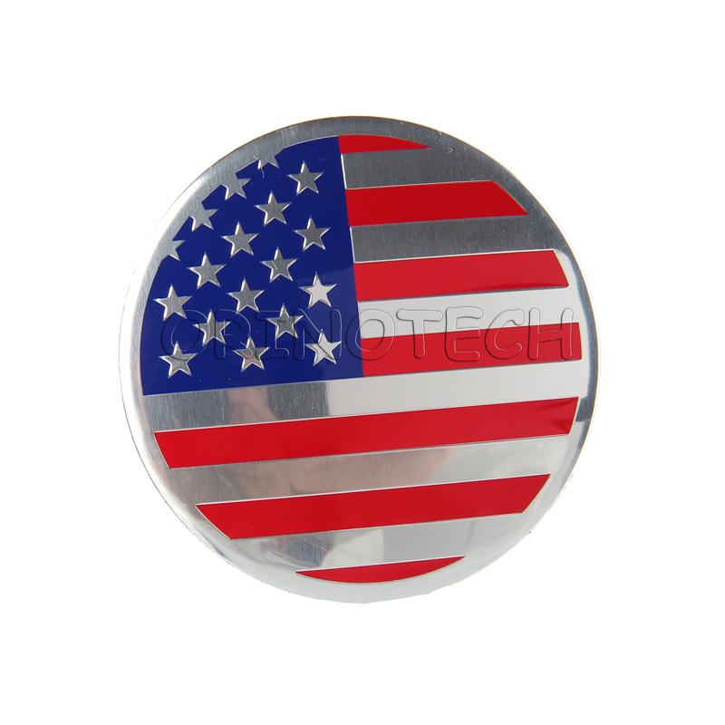 American flag wheel sticker-2