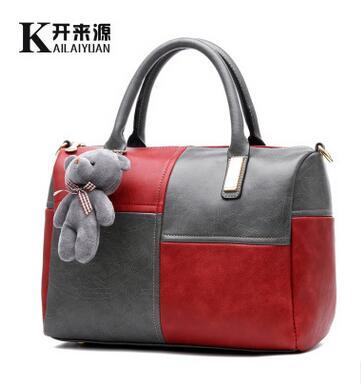 100% Genuine leather Women handbags 2016 new bag handbag female Korean sweet lady handbag Crossbody color Shoulder Handbag(China (Mainland))