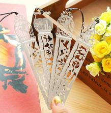 4Pcs cutout book mark ultra-thin metal bookmark tape ruler brief book marker fashion bookmarks for Books Stationery Glifts(China (Mainland))