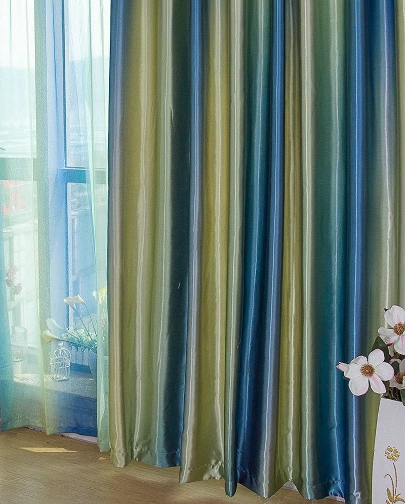 Chambre bleu violet - Style de rideaux pour salon ...