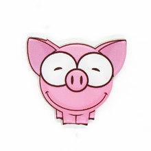 Hoạt hình Lợn Con Mèo Dễ Thương Men Cài Áo Huy Hiệu Trang Trí Thời Trang Vintage cho Nữ Hợp Kim Kẽm Trang Sức Trâm Cài Áo Phụ Kiện(China)