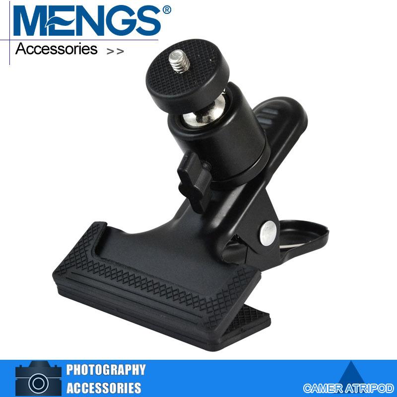 "MENGS 1/4"" Screw Flash Bracket With 360 Degree Rotating Camera Ball Head for Camera Tripod Flash Bracket(14130006601)(China (Mainland))"