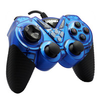 2016 Rushed Real Selling Usb Gamepad Double Shock Joystick Controllers For windows10 Pc Computer Dw003 Free Shipping 1pc