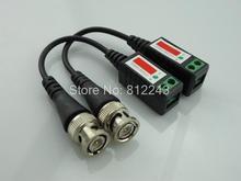 Twisted CCTV Video Balun Passive Transceivers 3000FT Distance UTP Balun BNC Cable Cat5 CCTV UTP Video Balun