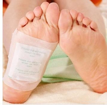20packs=40pcs/lot Kinoki Detox Foot Pads Patches with Adhesive / No Retail Box(40pcs=20pcs Patches+20pcs Adhesives)(China (Mainland))