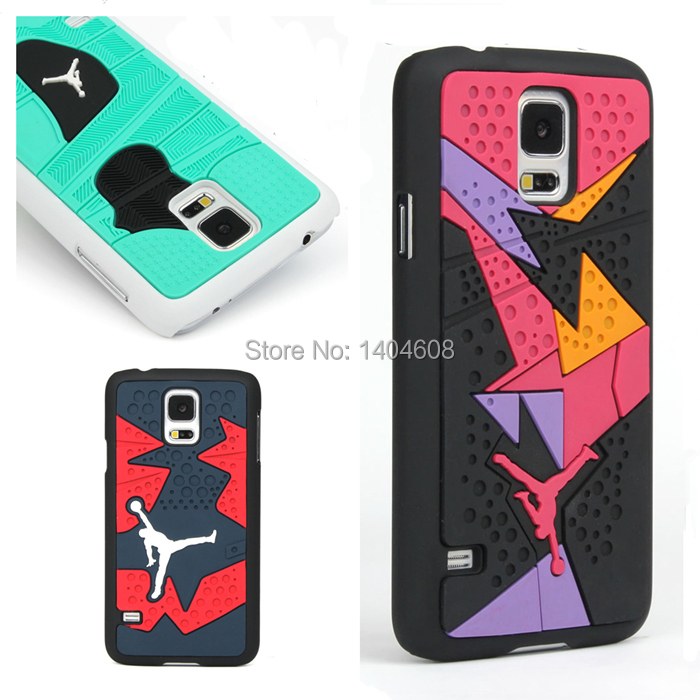 3D Jordan Shoe Sole PVC Rubber Cell Phone Case For Samsung Galaxy S5 I9600 AJ Jumpman 15 Phone Cases Back Cover hard plastic(China (Mainland))