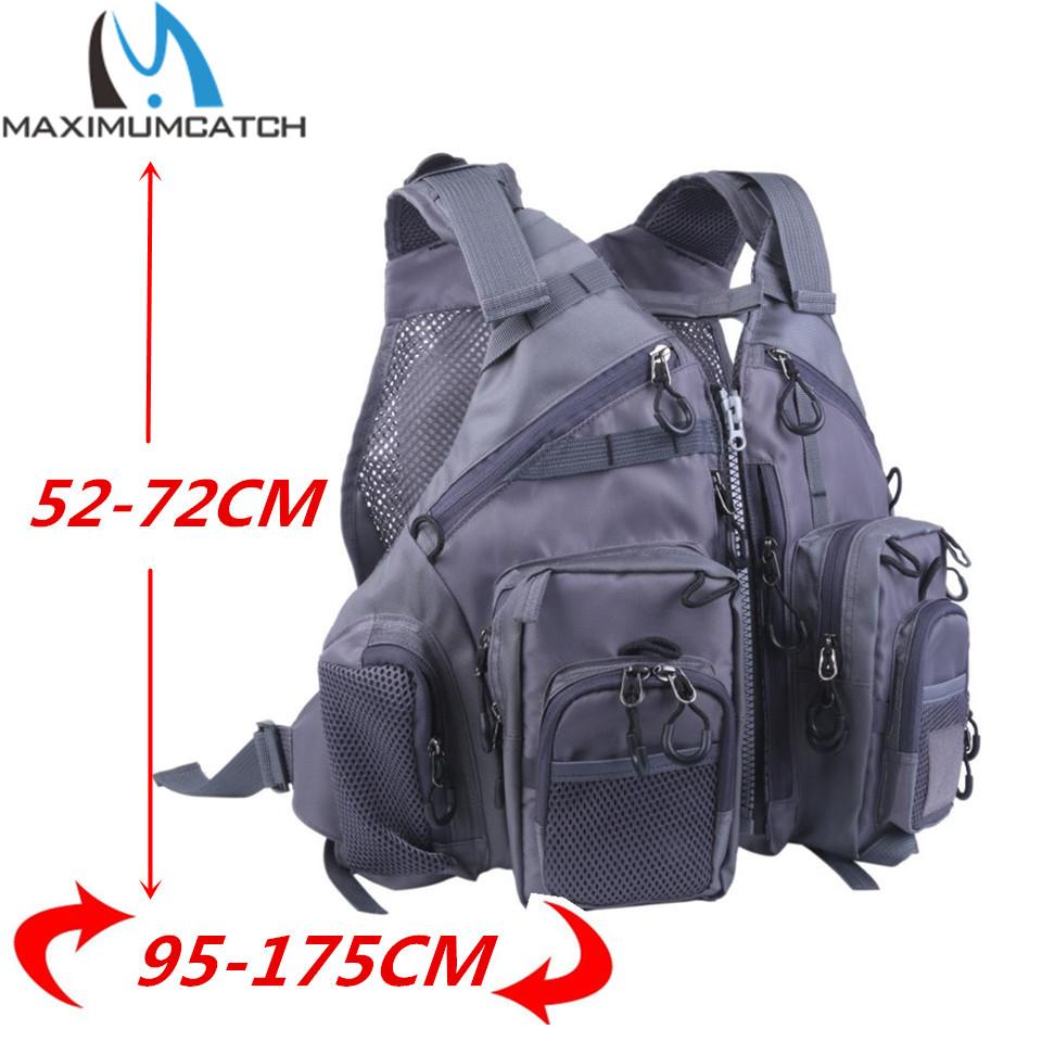 Fly Fishing Vest Adjustable Mutil-Pocket Packs & Detachable Floatation Cushion Fishing Vest(China (Mainland))