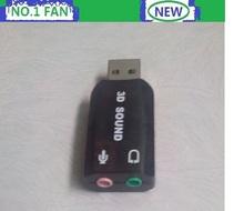 High Quality new external sound card  USB headset Mic Speaker Audio mircophone Converter Sound Card Adapter External sound card