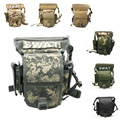 Professional outdoor SWAT camouflage waist bag multi functional military tactical waterproof let bag for hiking camping