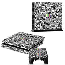 Commemorative special Edition Protective Decor Skin Sticker for SONY Playstation 4 Decal Stickers for PS 4 PS4 Cool(China (Mainland))