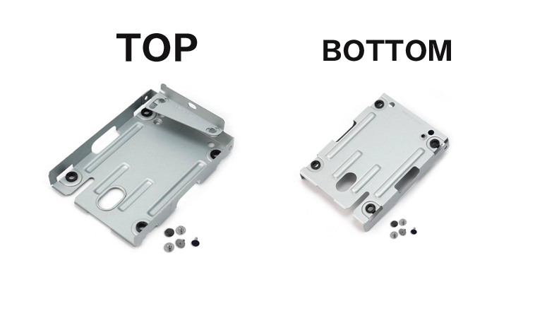 2.5 Inches HDD Hard Disk Drive Mounting Bracket For Sony Playstaion 3 PS3(China (Mainland))