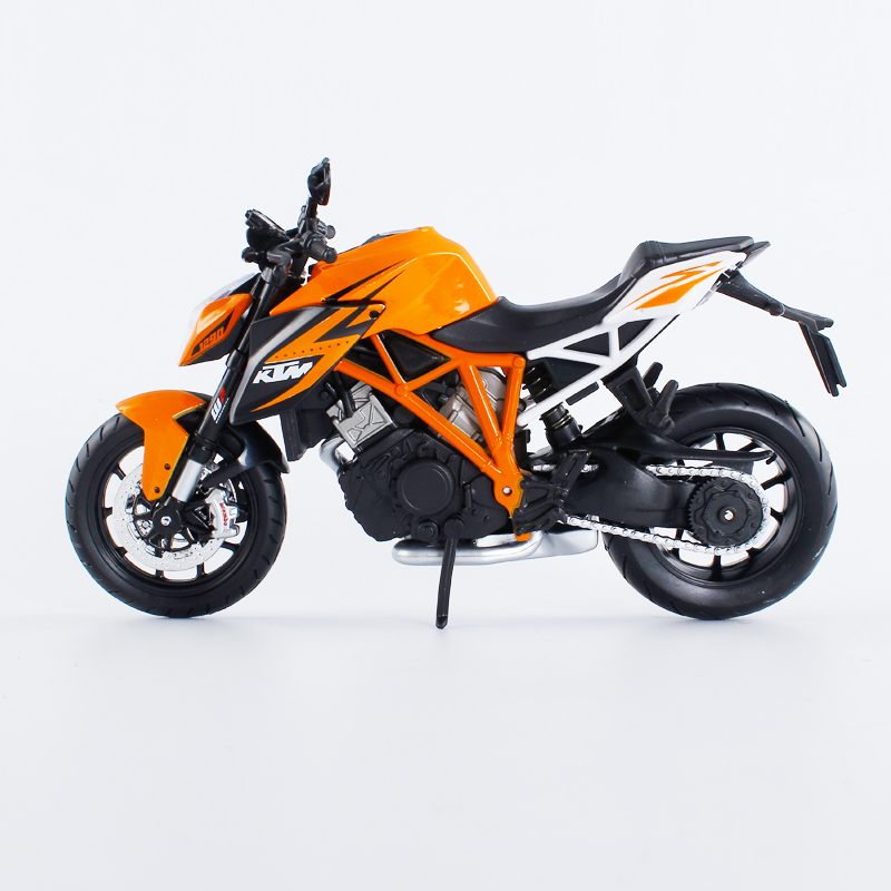 (6pcs/pack) Wholesale Maisto 1/12 Scale Motorbike Model Toys Austria KTM 1290 Diecast Metal Motorcycle Toy New In Box<br><br>Aliexpress