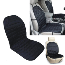 New Universal Car interior Thickening Heated Quilted Nylon Car Seat Cover Auto 12V Heater Heated Cushion Warmer E#A3(China (Mainland))