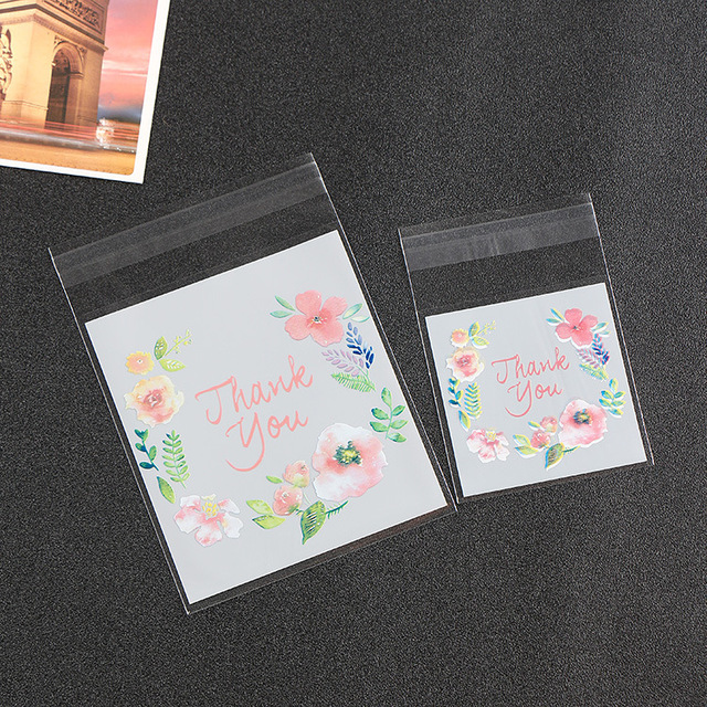 1000 x customized cool summer fresh flower baking biscuit candy packaging bags factory wholesale buy fresh cool summer