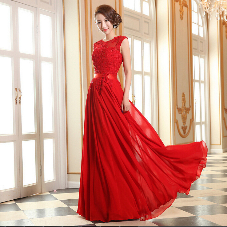 Plus size red lace wedding dress the for Cheap red wedding dresses