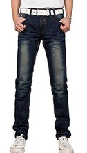 NQ Mens Slim Fit Casual Pants Skinny Stretch Pencil Jeans Trousers(China (Mainland))