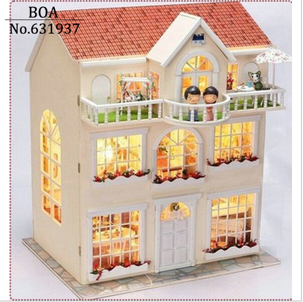 Diy Doll House Dream Fairy Model Building 3d Miniature