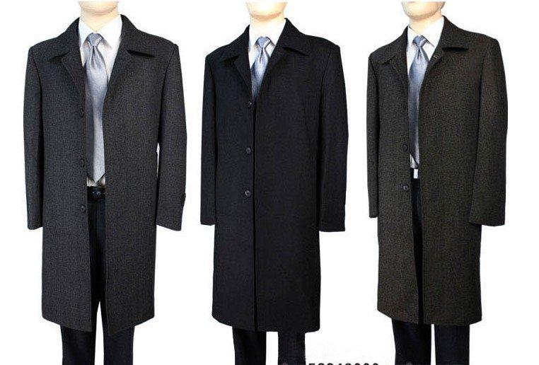Manteau homme long laine cachemire