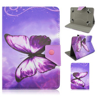 Printed Leather Stand Cover Case For Irbis TX47/TZ43/TG72/TG75/TX55/TX49/TX52/TH73 7 inch Universal Tablet Cases M4A92D