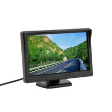 "New 5"" 800*480 (no 320*240) Car TFT LCD Monitor Screen 2ch Video Monitor Car for TV Rearview Reverse Backup Camera hot selling(China (Mainland))"