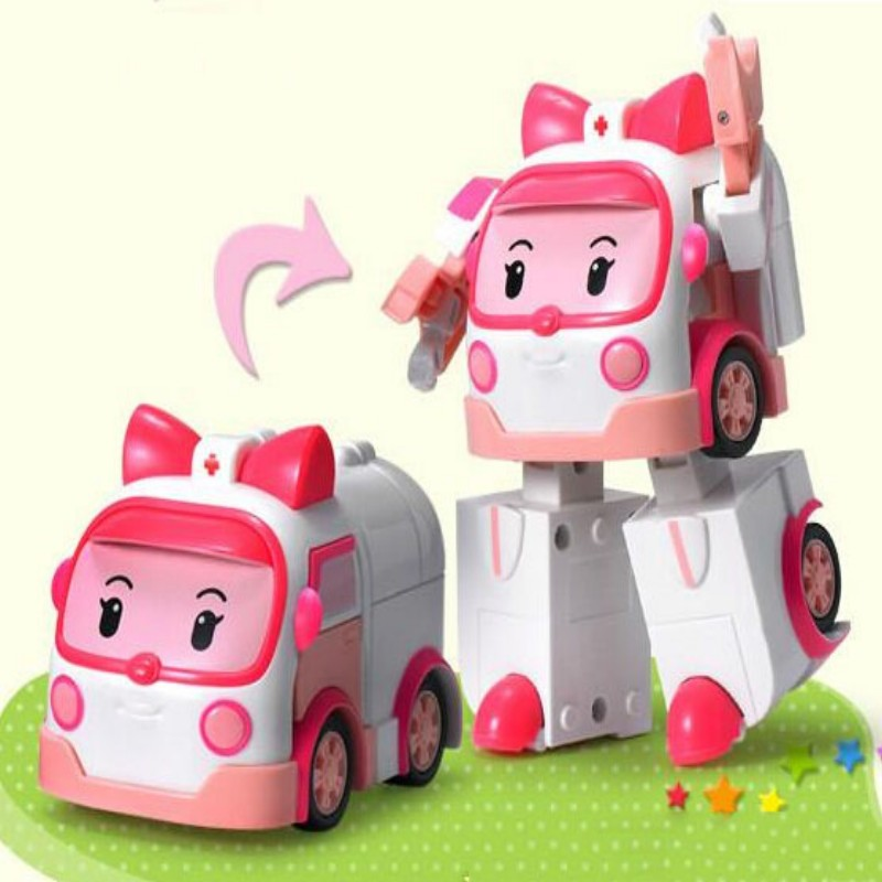 one pcs baby toy car model alloy + abs Q style toy mini ambulance cool high performance kids favorite toy child best gift 8cm(China (Mainland))