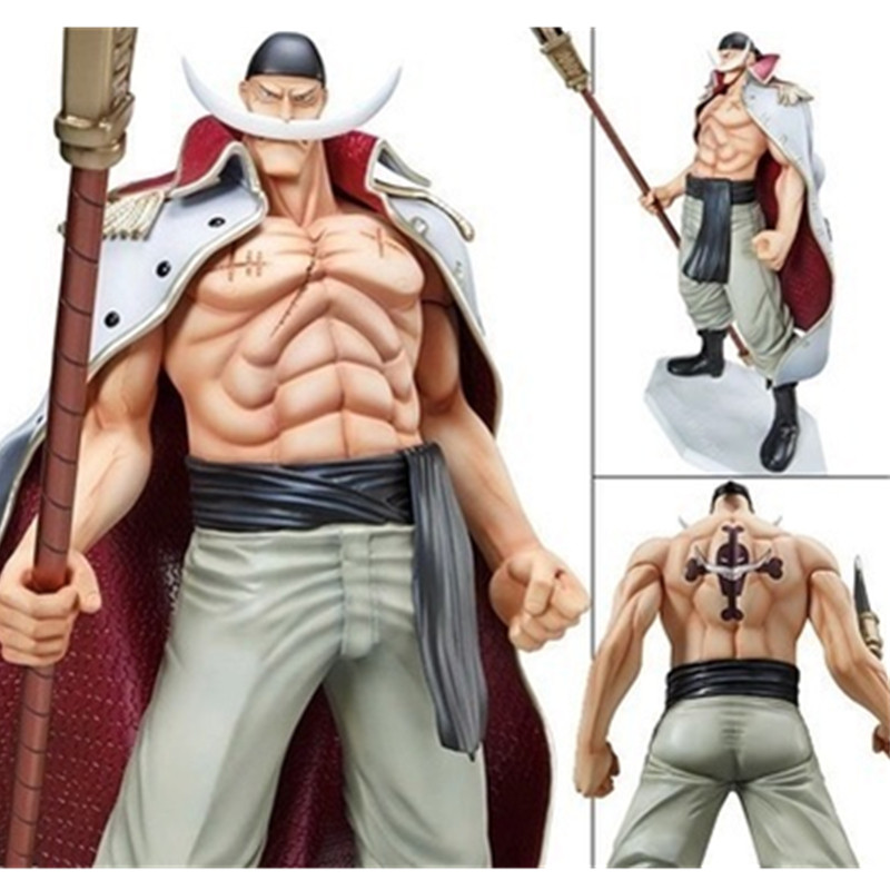 [PCMOS] Anime One Piece POP Whitebeard Edward Newgate 1/8 Scale Completed PVC Figure 28cm/11inch Big Model Toy New in Box 5975(China (Mainland))
