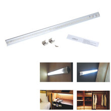 Haute luminosité 21 LEDs 50 cm feux de barre de LED SMD3528 PIR Motion sous Cabinet LED Light Sensor lampe cuisine armoire éclairage(China (Mainland))