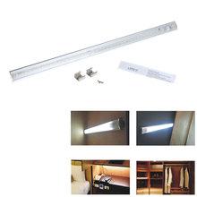 Alto brillo 21 LEDs 50 cm luces de barra de LED SMD3528 de movimiento PIR bajo luz del gabinete llevó la lámpara del Sensor cocina armario iluminación para el hogar(China (Mainland))