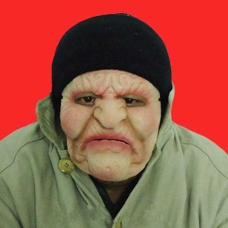 Old Woman Silicone Female Masks For Halloween Party