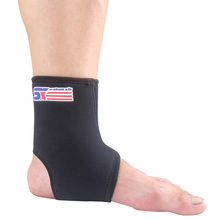 Sports Safety Elastic Ankle Support Tobilleras Deportivas Gym Basketball Football Ankle Brace Protection Free Size Ankle Guard(China (Mainland))