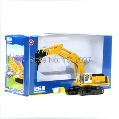 Brand Alloy Engineering Car Models Toy Car Crusher Truck Artificial Model Cars Classic Engineering Toys Children's Toy(China (Mainland))