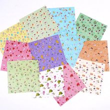 New Hot Sale Square 6 Kinds of Patterns Paper Craft Origami Folding Paper Flower Patterned Papers DIY Kid Gift #242491(China)