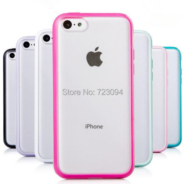 2015 Best Hot Fashion Rubber Soft Transparent Silicone Gel Skin TPU Case Cover For iPhone 5C EC118(China (Mainland))