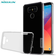 Buy NILLKIN Nature Transparent Case LG G6 Case Clear Soft Silicone Silicon TPU Rubber Back Cover Coque Case Capa LG G6 Cover for $6.19 in AliExpress store