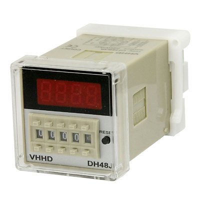 Controller 1-999900 Counting 8 Pins DH48JA Power Counter Relay 220VAC<br><br>Aliexpress
