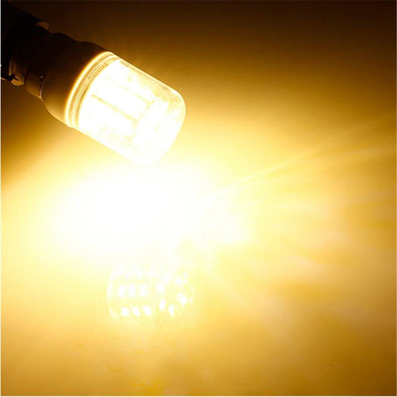 1pcs DC 12V E27 27 LED Light Bulb 5730 SMD Super Bright Energy Saving Lamp Corn Lights Spotlight Bulb White Warm White Lighting