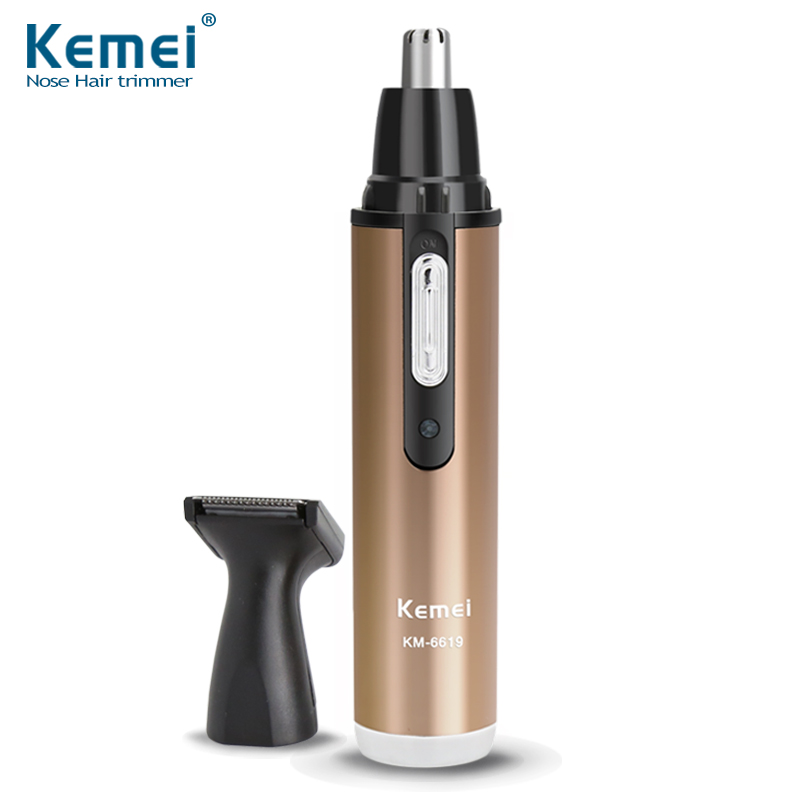 2 in 1 Multifunction Portable mini Electric Nose ear Hair Trimmer Men and Women  Face Care Shaving Hair clipper<br><br>Aliexpress