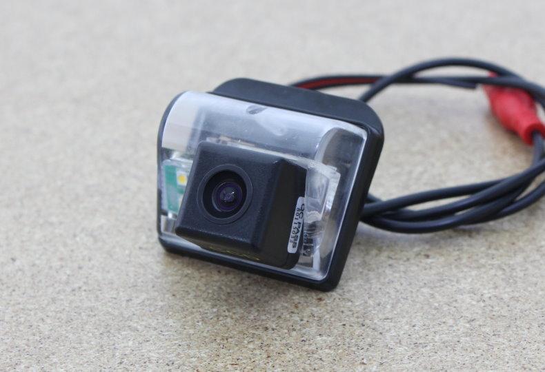 Car Rear View Camera / Reversing Park Camera / FOR Mazda 3 Mazda3 Sendan 2007~2011 / HD Night Vision + Water-proof + Wide Angle