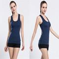2016 Fashion Style T Shirts For Women High Quality Yoga Tank Tops Female Slim Sports Crop