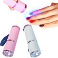 Mini DIY Gel Nail Art Polish LED Lamp Dryer LED Flashlight Nail Dryer Lamp Cure Lamp
