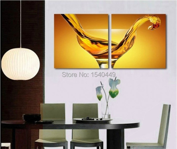 Contemporary Wine Glass Wall Art Photos - Wall Art Collections ...