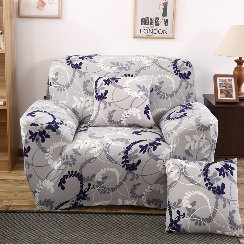 L Shape Stretch Elastic Fabric Sofa Cover Pet Corner Couch Cover Sectional  Sofa Cover Set Home Decor Printed Color