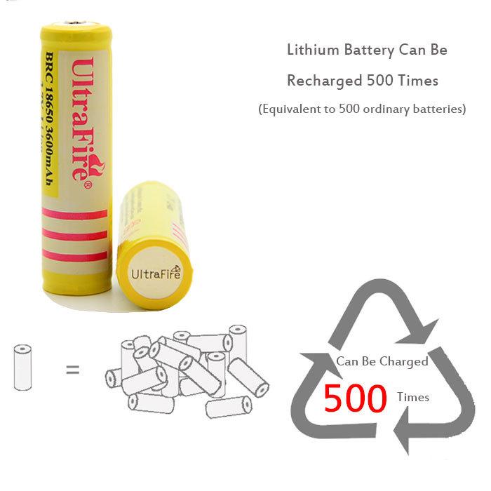 20pcs Consumer Electronics Power Source Rechargeable Batteries 18650 battery rechargeable battery for powerbank flashlight