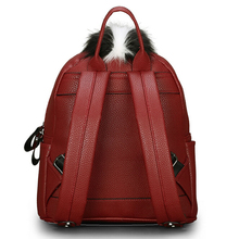 2015 personality fashion backpacks men travel women backpack school bags for teenagers mochila escolar Monster leather